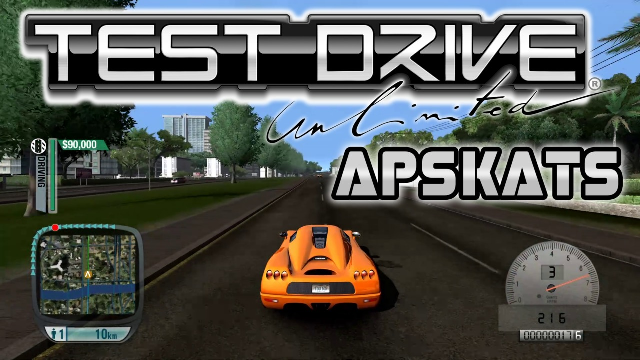 Test Drive Unlimited apskats