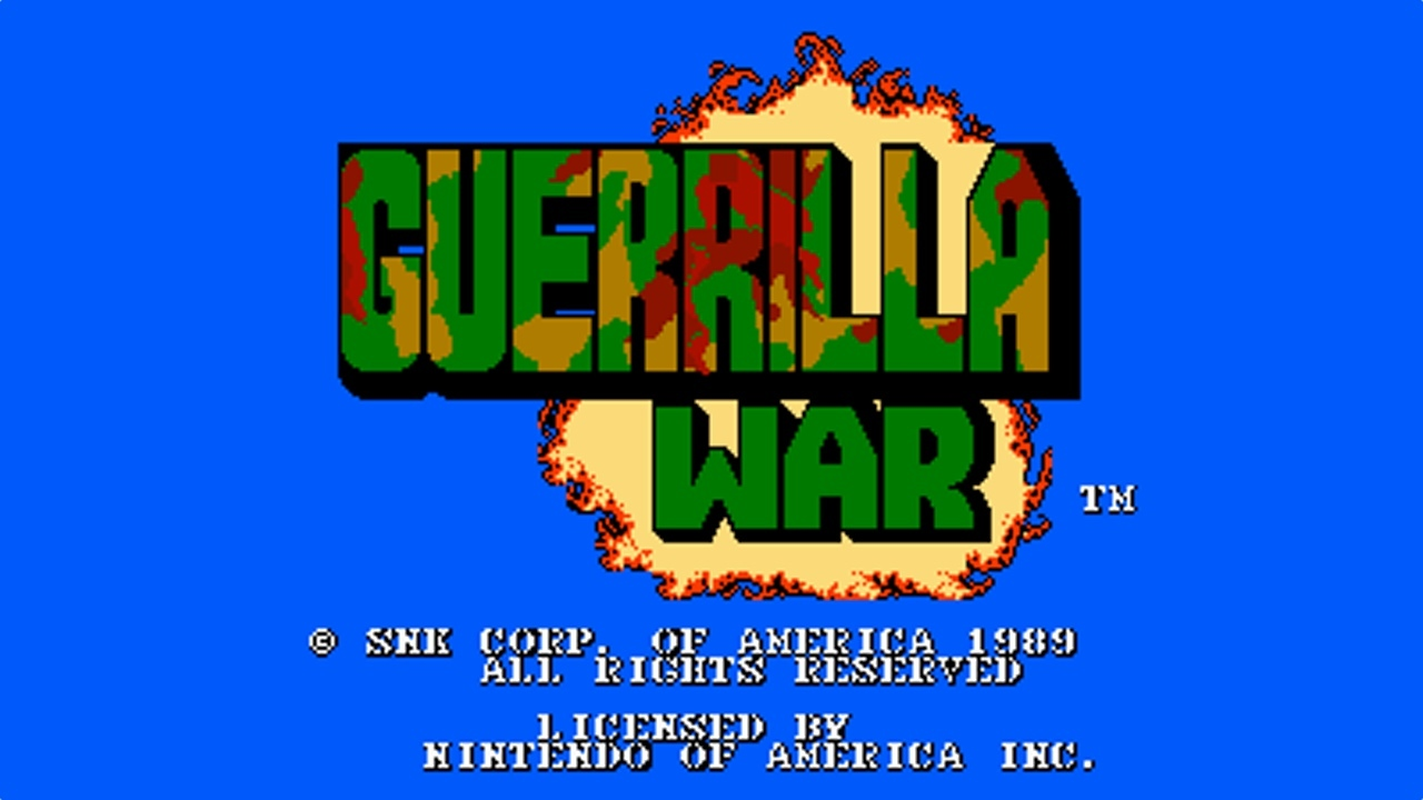 Guerilla War (NES, 1987) video apskats